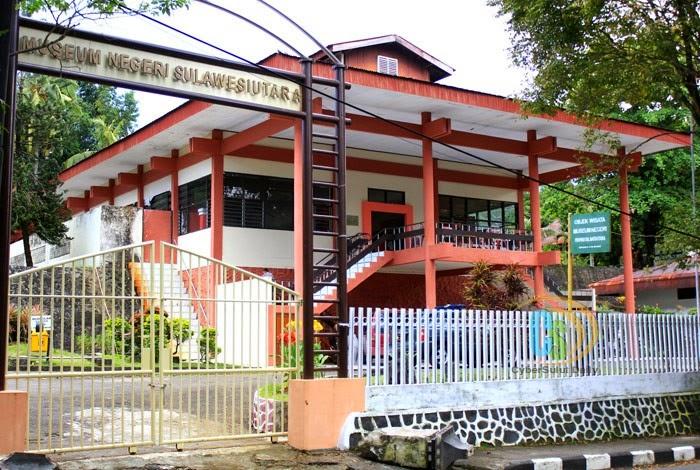 Wisata Sejarah Museum Negeri Provinsi Sulawesi Utara Aneka Kota Manado