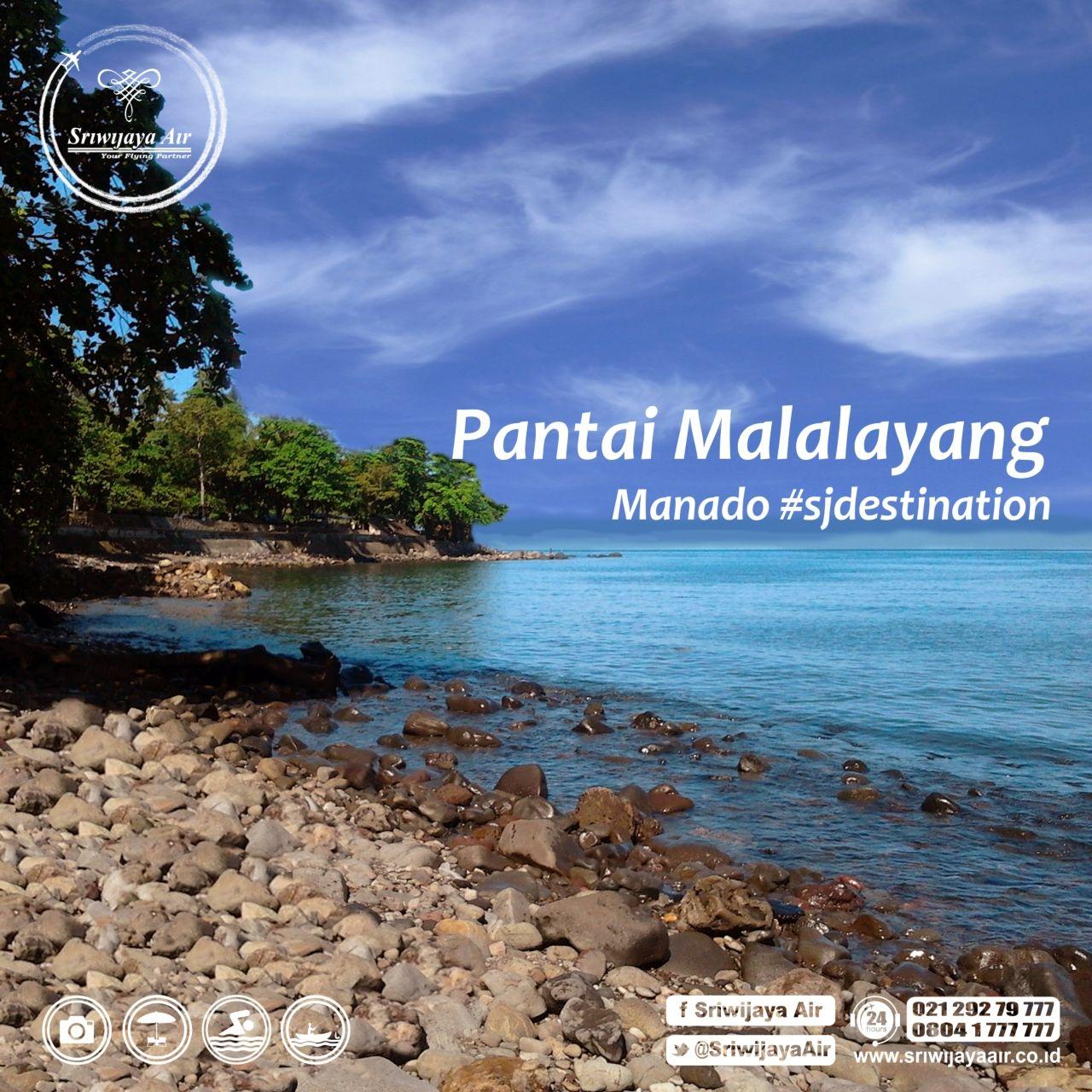 Berjalan Jalan Manado Sempatkan Waktu Bersantai Pantai Malalayang Partners 10