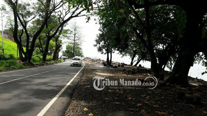 Eks Kawasan Kuliner Pantai Malalayang Dua Bersih Tribun Manado Kota