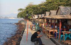 Gurita Pantai Malalayang Manado Pinterest View Kota