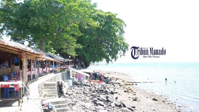 Nikmati Suasana Romantis Pantai Malalayang Tribun Manado Kota