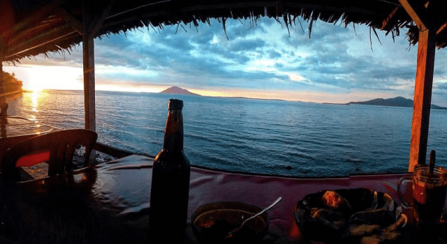 Pantai Malalayang Berwisata Sambil Kulineran Pinggir Indah Kota Manado