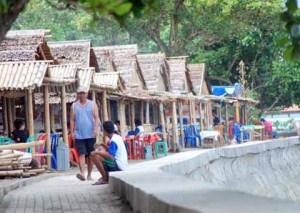 Pantai Malalayang Manado Sulawesi Utara Bali Backpacker Stan Makanan Kota