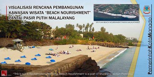 Pemkot Manado Berencana Tata Pantai Malalayang Terkini Rencana Penataan Kota