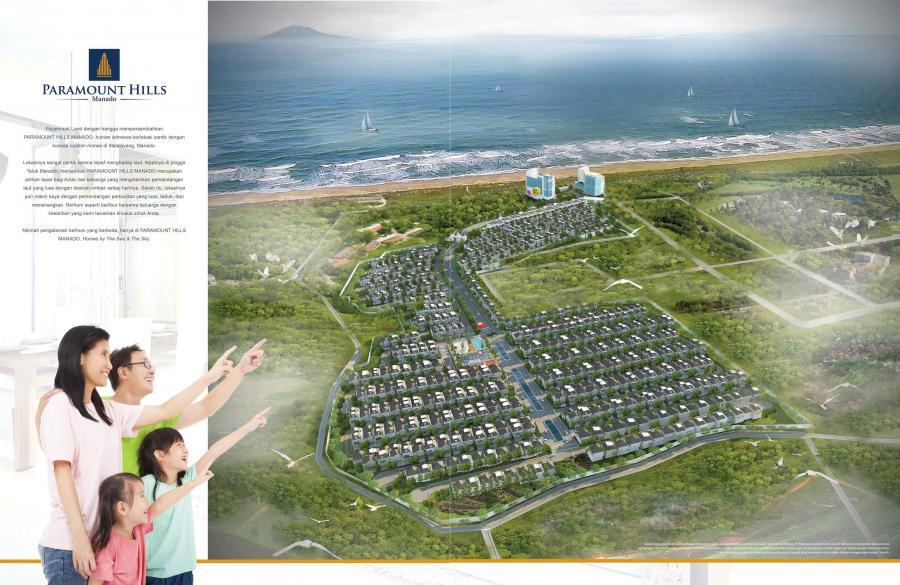 Rumah Cluster Pinggir Pantai Malalayang Persis Beach View Kota Manado