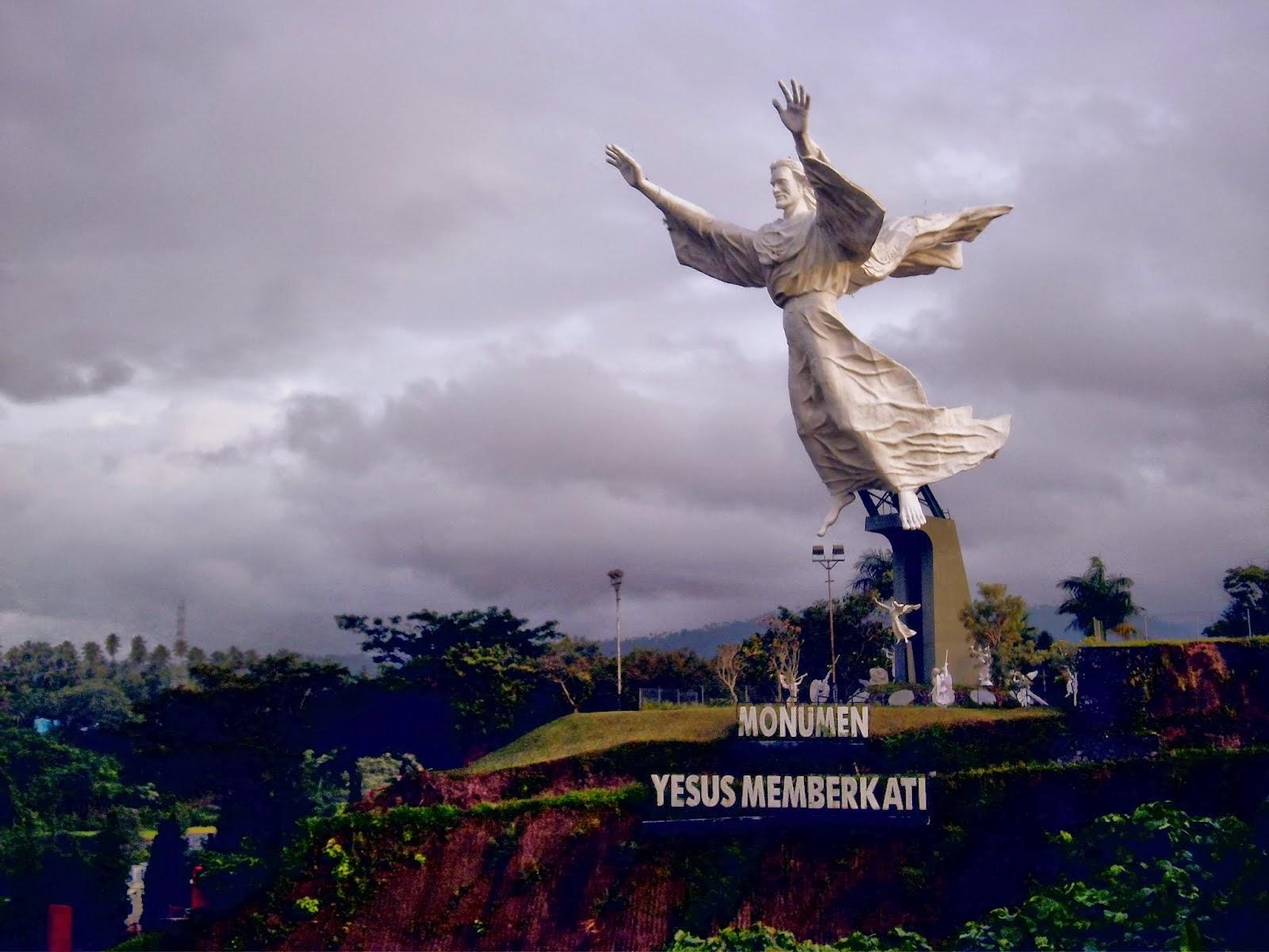 5 Patung Tertinggi Indonesia World Yesus Memberkati Kawasan Asia Sampai