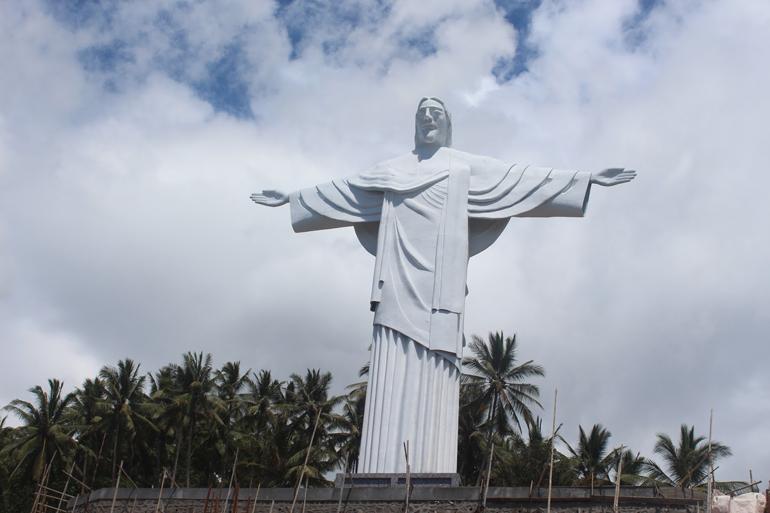 7 Patung Yesus Tertinggi Terbesar Indonesia Nomor 6 Lembeh Bitung