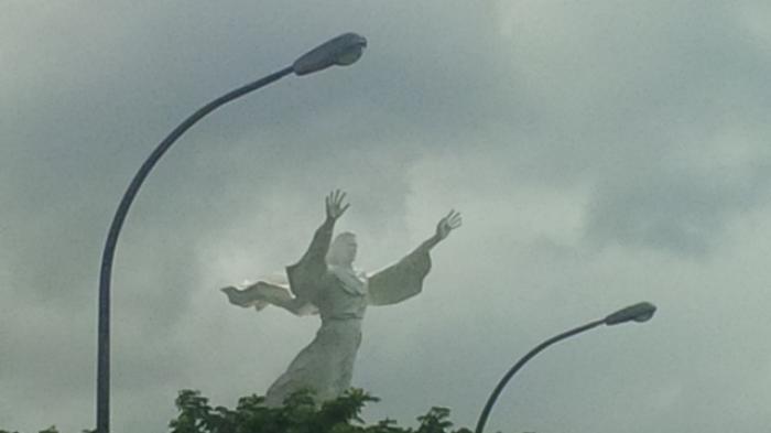 Alasan Patung Yesus Memberkati Manado Ramai Dikunjungi Kota