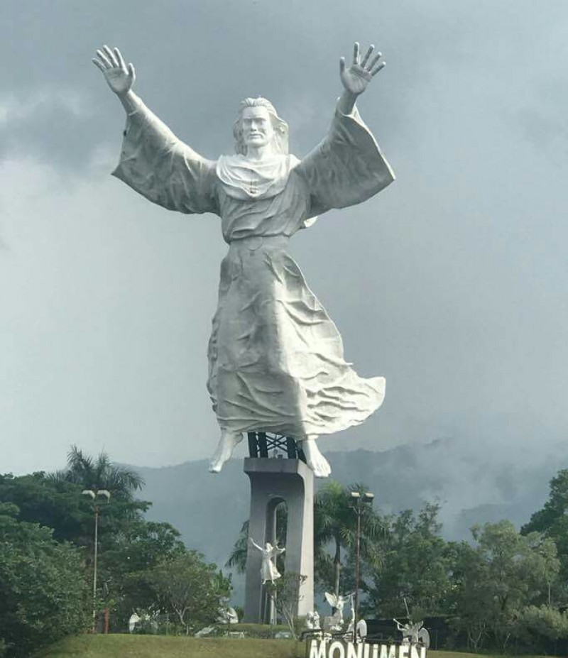 Budaya Pariwisata Tarik Minat Wisatawan Pemkot Gunungsitoli Dirikan Patung Yesus