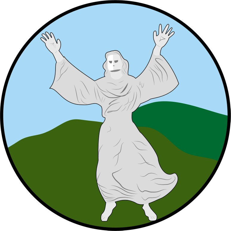 God Bless Manado Statue Patung Tuhan Yesus Memberkati Kota
