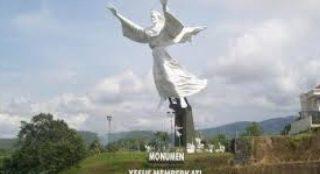 Keindahan Panorama Patung Yesus Memberkati Manado Wisata Tanahair Kota
