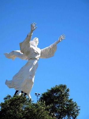 Manado Amazing Paradise Nakanianotour Pergi Mengunjungi Patung Yesus Memberkati Tuhan