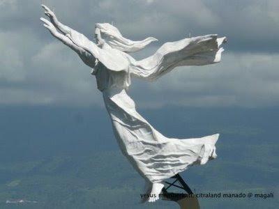 Manado Town Patung Tertinggi 3 Dunia Tuhan Yesus Memberkati Kota
