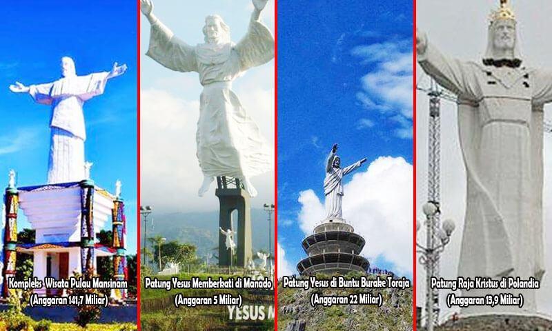 Menakar Nilai Proyek Monumen Patung Tuhan Yesus Rp 500 Miliar