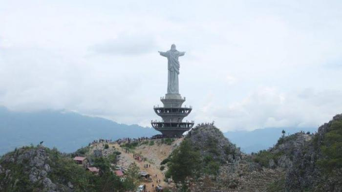 Patung Yesus Memberkati Tana Toraja Simak 4 Fakta Unik Tertinggi