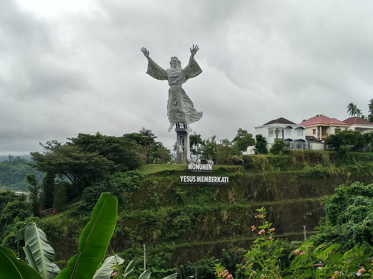 Patung Yesus Memberkati Wikipedia Bahasa Indonesia Ensiklopedia Bebas Kota Manado
