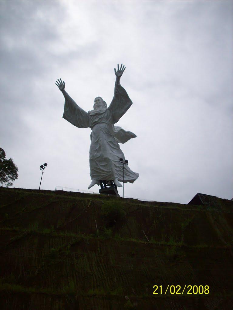 Yesus Memberkati Mapio Net Patung Tuhan Kota Manado