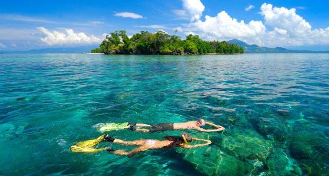 5 Tempat Wisata Manado Diving Snorkeling Pulau Siladen Kota