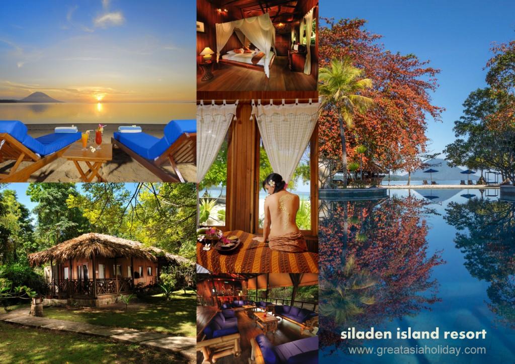 Bunaken Marine Park 3d2n Great Asia Holiday Siladen Island Resort