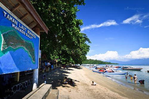 Joemagination Blog Bunaken Eksotika Utara Indonesia Ya Sebuah Pulau Indah