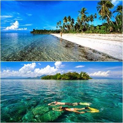 Keindahan Wisata Air Mengagumkan Manado Pulau Siladen Kota