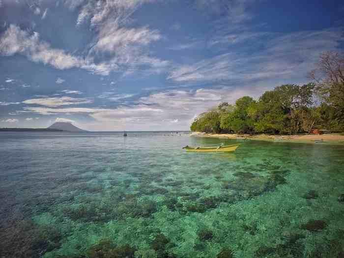 Liburan Asyik Manado Surga Dunia Kamu Tandangi Pulau Siladen Kota