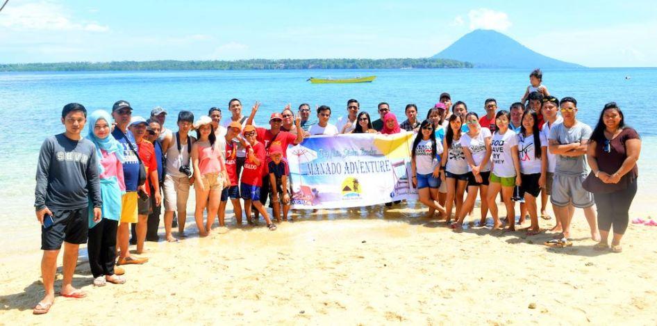 Open Trip Manado Oto Pulau Siladen Kota
