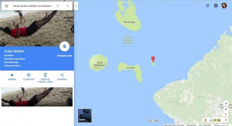 Pantai Pasir Putih Pulau Siladen Manado Gotravelly Terletak Provinsi Sulawesi