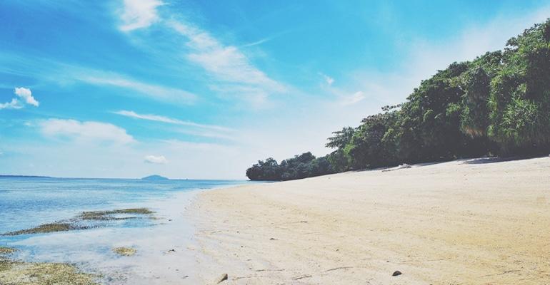 Pulau Siladen Manado Nikmatnya Honey Moon Info Baswara Pasir Putih