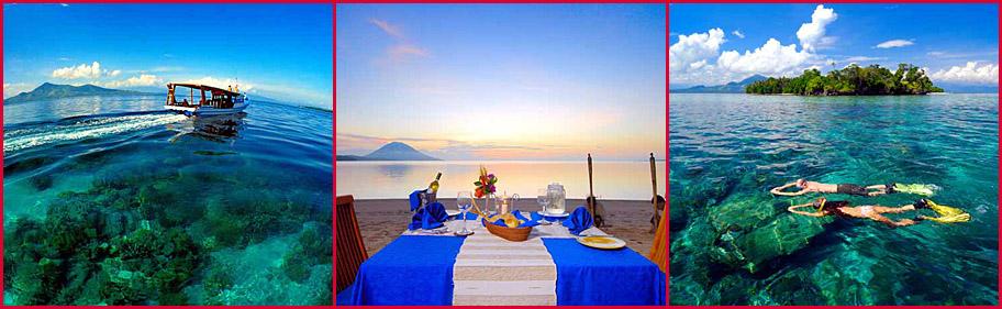 Siladen Resort Spa Sulawesi Indonesia Scuba Diving Lembeh Strait Pulau