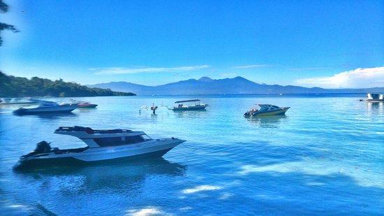 Pemandangan Kota Manado Dilihat Pulau Bunaken Picture National Marine Park