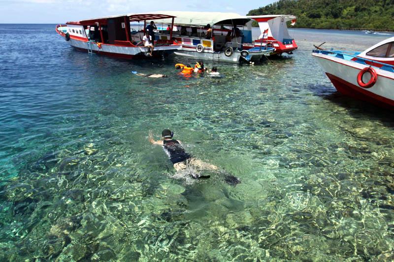 Taman Laut Bunaken Manado Wisata Alam Indonesia Bagian Pemerintahan Kota