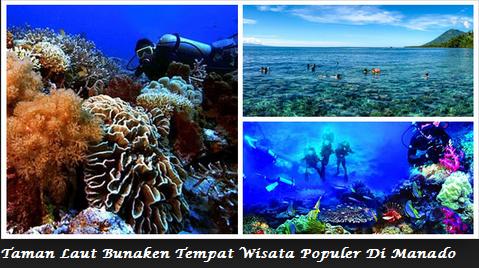 Taman Laut Bunaken Tempat Wisata Terpopuler Manado Populer Kota