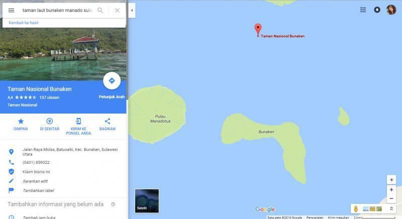 Tempat Wisata Wajib Kunjungi Taman Laut Bunaken Manado Menuju Pelabuhan