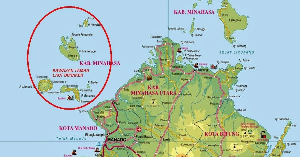 Visit North Sulawesi South Bunaken Manado Tana Toraja Wonderful Exotic