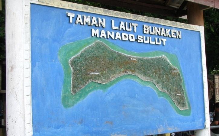 Wisata Laut Bunaken Tour Indonesia Taman Kota Manado