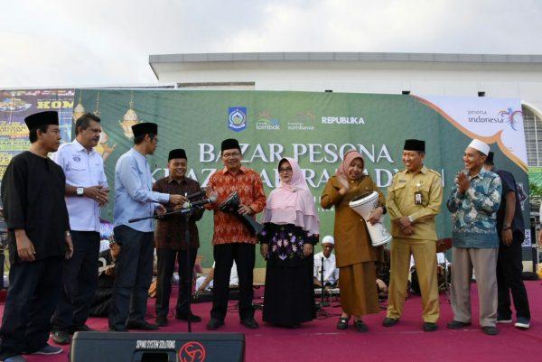Bazar Ramadhan Pkr 2018 Dorong Kegiatan Ekonomi Ntb Lombok Info