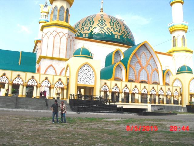 Berkunjung Masjid Islamic Centre Mataram Oleh Tjiptadinata Raya Hubbul Wathan