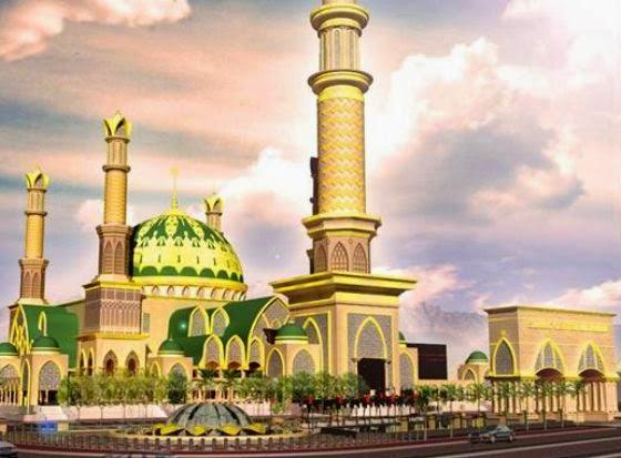 Islamic Center Lombok Lengkapi Pulau Seribu Masjid Blogger Raya Hubbul