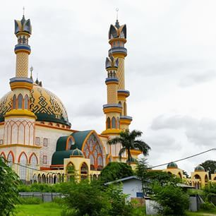 Islamic Center Masjid Mataram Lombok West Nusa Tenggara Indonesia Raya