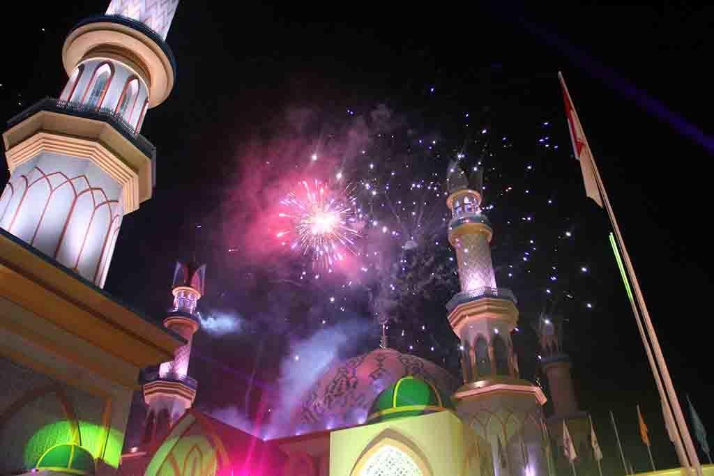 Ketika Islamic Center Menyambut Jemaah Shalat Idul Adha Suarantb Meski