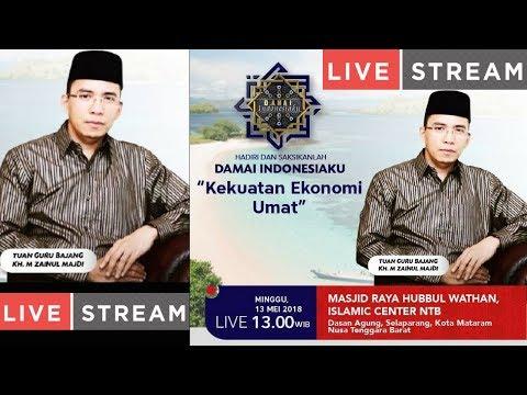 Live Islamic Center Tgb Damai Indonesiaku Persiapan Menyambut Bulan Ramadhan