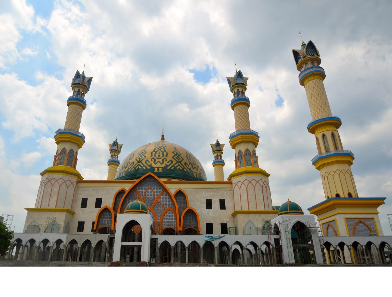 Masjid Hubbul Wathan Islamic Center Lombok Tembus 5 Ribu Kunjungan