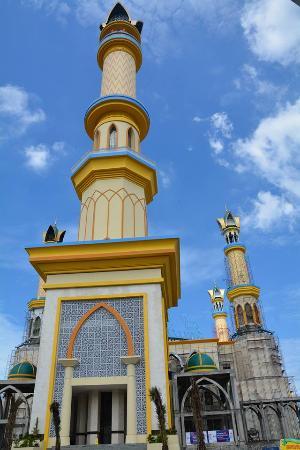 Masjid Islamic Center Mataram Ntb Foto Nusa Tenggara Barat Indonesia