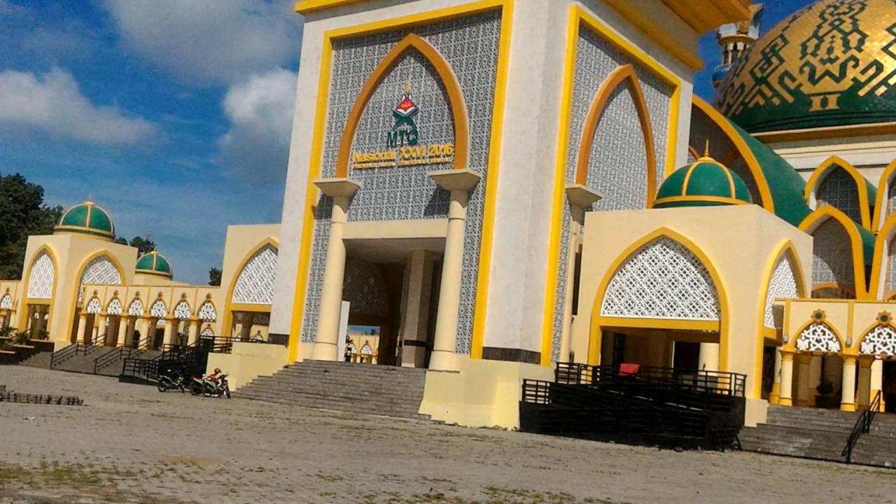 Masjid Islamic Center Mataram Youtube Raya Hubbul Wathan Centre Ntb