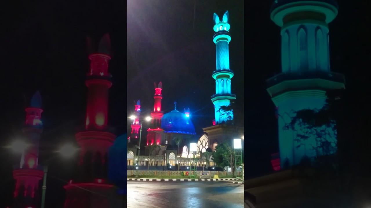 Masjid Raya Hubbul Wathan Islamic Centre Nusa Tenggara Barat Youtube