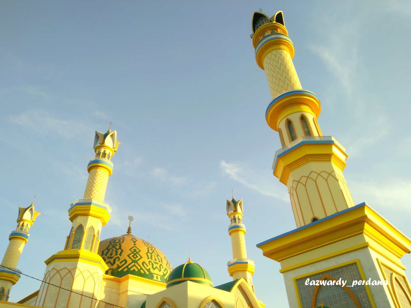Peresmian Islamic Center Lombok Landmark Kota Mataram Lazwardy 1 Jpg
