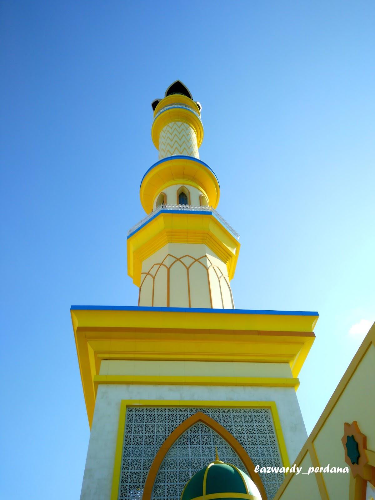 Peresmian Islamic Center Lombok Landmark Kota Mataram Lazwardy Masjid Hubbul