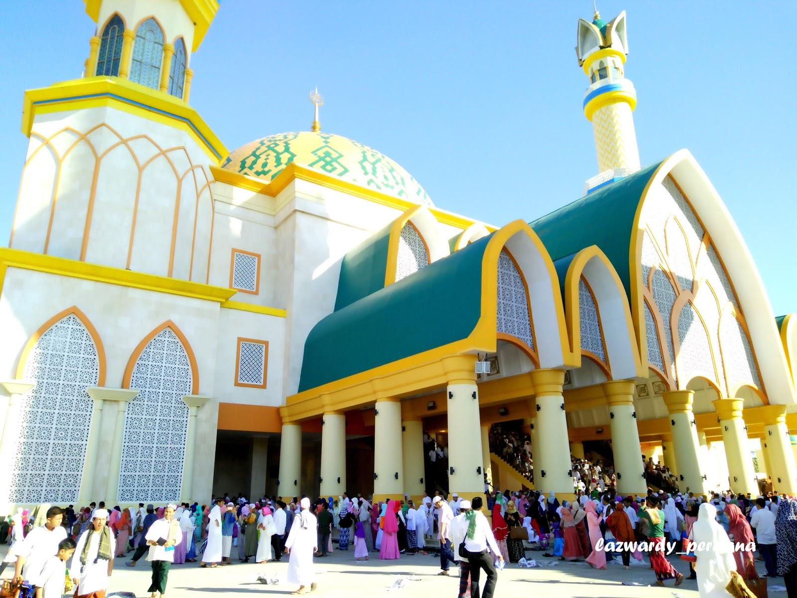 Peresmian Islamic Center Lombok Landmark Kota Mataram Lazwardy Sekitar Jam