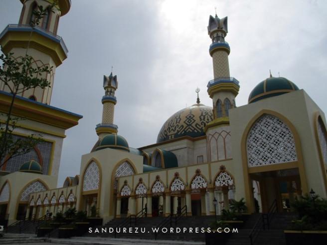 Pertama Tiba Lombok Pulau Seribu Masjid Sandurezu Syandrez Hubbul Wathan